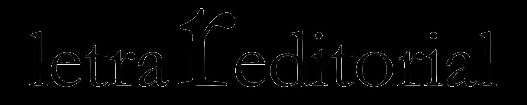 Editorial Letra r